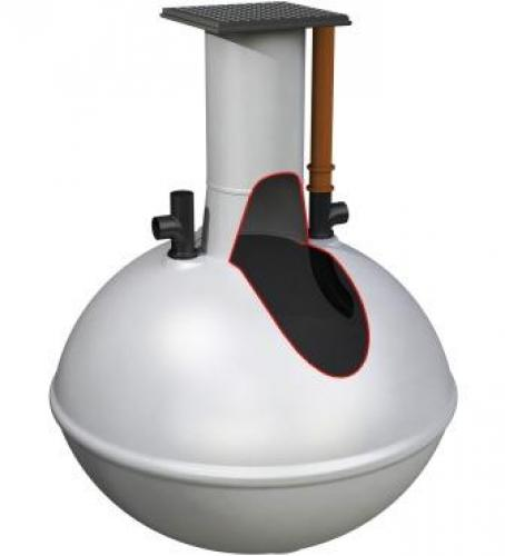Alpha septic tank